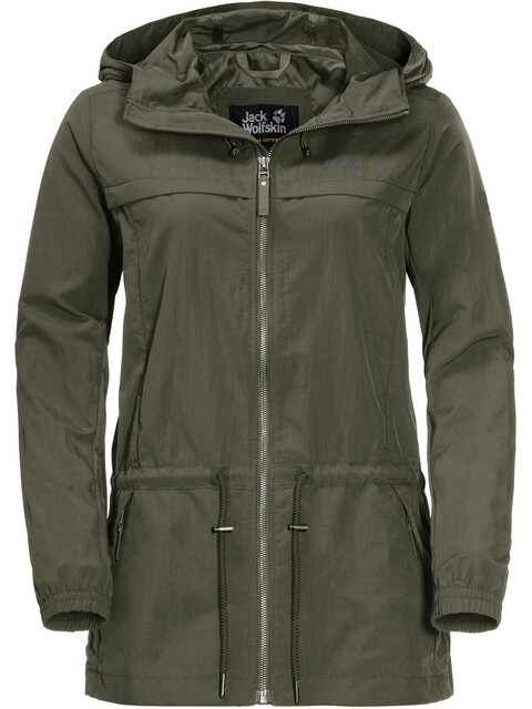 Jack Wolfskin Saguaro Jacket Women woodland green
